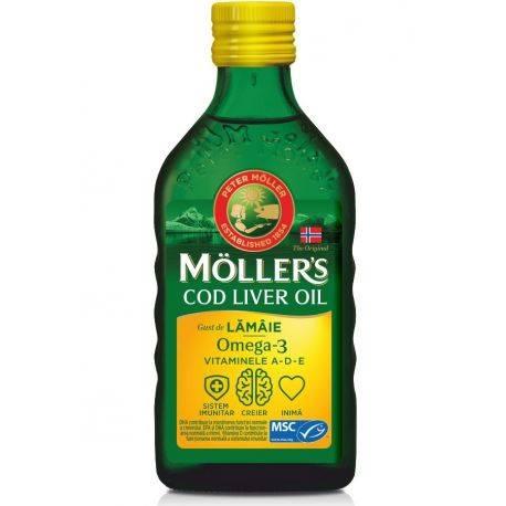 Cod Liver Oil Omega-3 MÖLLER's x 250ml