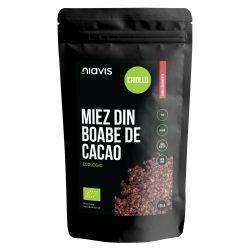 Miez din Boabe de Cacao Ecologice/BIO x 125g Niavis