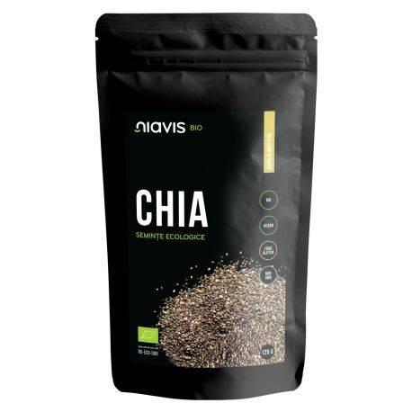 Seminte de Chia Ecologice/BIO x 125g Niavis
