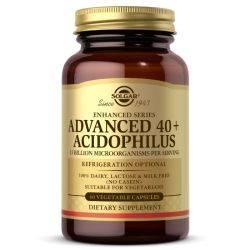 Advanced 40+ Acidophilus x 60veg cps Solgar