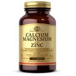 Calcium Magnesium + Zinc x 100 tb. Solgar