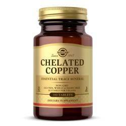 Chelated Copper x 100 tb. Solgar