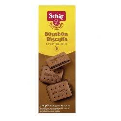 Bourbon - Biscuiti cu crema de cacao fara gluten x 125g Dr. Schar