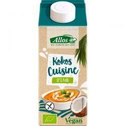 Crema de cocos lichida pentru gatit fara gluten x 200ml Allos