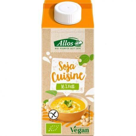 Crema vegetala de migdale pentru gatit ECO x 200ml Allos