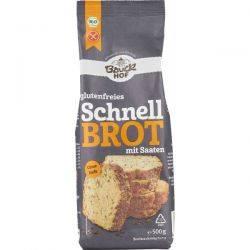 Mix de faina pentru paine rapida cu seminte fara gluten x 500g BauckHof