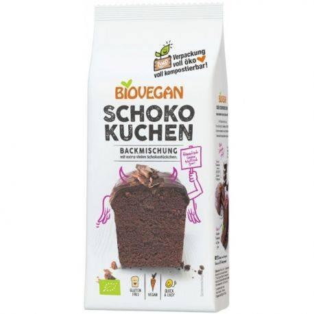 Mix pentru chec cu cacao fara gluten x 380g BioVegan