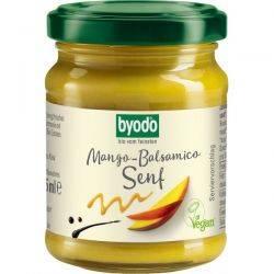 Mustar cu mango si otet balsamic fara gluten x 125ml Byodo