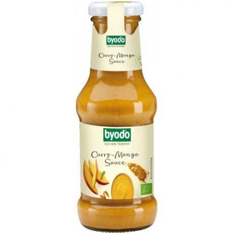 Sos curry cu mango fara gluten x 250ml Byodo