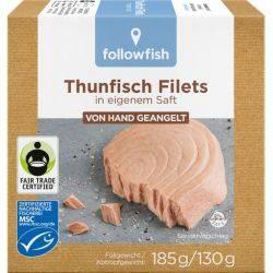 File de ton in saramura x 185g Followfish
