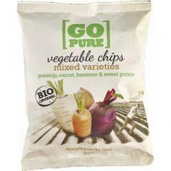 Chipsuri din legume fara gluten x 90g Go Pure
