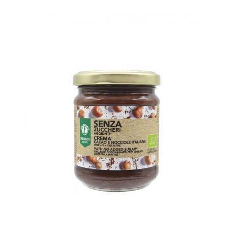 Crema tartinabila cu cacao si alune fara zahar fara gluten x 200g Probios