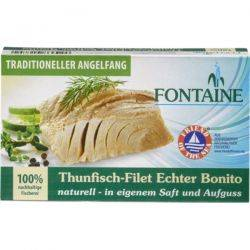 File de ton in suc propriu x 120g Fontaine