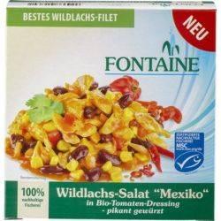 Salata mexicana cu somon salbatic x 200g Fontaine