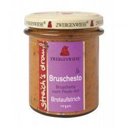 Crema tartinabila vegetala Bruschesto cu bruscheta si pesto fara gluten x 160g Zwergenwiese