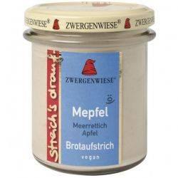 Crema tartinabila vegetala Mepfel cu hrean si mar fara gluten x 160g Zwergenwiese