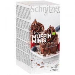 Mini muffins cu ciocolata fara gluten x (2x2buc) 120g Schnitzer