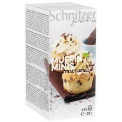 Mini muffins cu Stracciatella fara gluten x (2x2buc) 120g Schnitzer