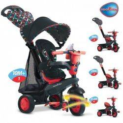 Tricicleta Smart Trike Boutique Red