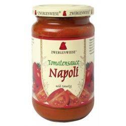Sos bio de tomate Napoli fara gluten x 340ml Zwergenwiese