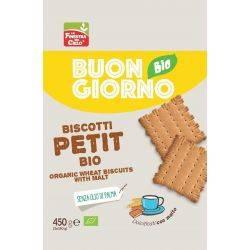 Biscuiti bio Petit (indulcit cu malt) x 450g La Finestra sul Cielo