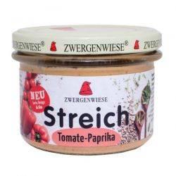Pate vegetal cu tomate si ardei x 180g Zwergenwiese