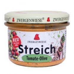 Pate vegetal cu tomate si masline x 180g Zwergenwiese