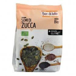 Seminte bio de dovleac decojite fara gluten x 200g Fior di Loto