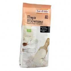 Faina de orez integral bio fara gluten x 375g Fior di Loto