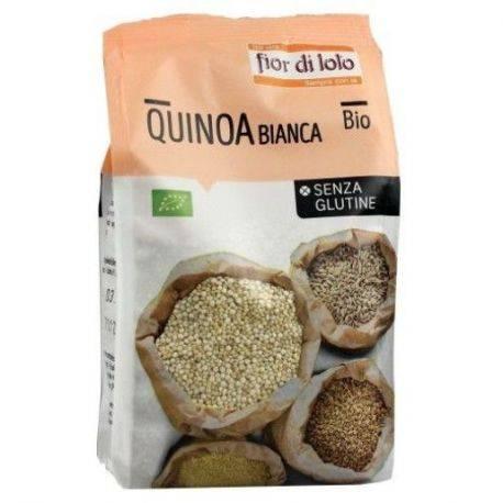 Quinoa alba bio fara gluten x 400g Fior di Loto
