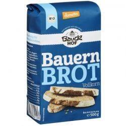 Bio Premix pentru paine integrala taraneasca x 500g Bauckhof