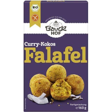 Falafel eco mix cu curry si cocos, fara gluten x 160g Bauckhof