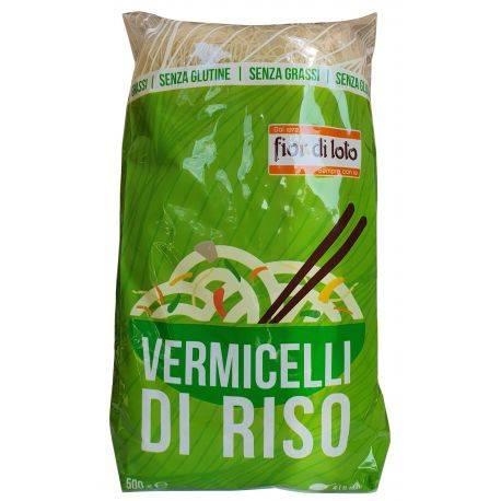 Taietei subtiri din orez (vermicelli) fara gluten x 500g Fior di Loto