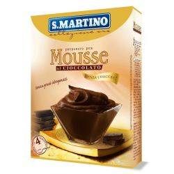 Preparat pentru Mousse fara gluten, fara coacere (4 portii) x 115g S.Martino