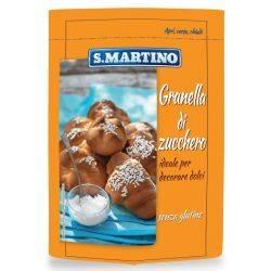 Zahar granulat pentru decor fara gluten x 125g S.Martino
