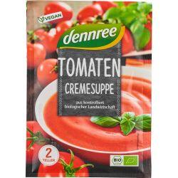 Supa crema de rosii bio, la plic x 40g Dennree