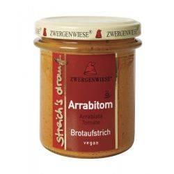 Crema tartinabila vegetala Arrabitom cu arrabiata si tomate fara gluten bio x 160g Zwergenwiese
