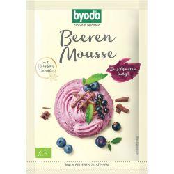Mix pentru mousse cu fructe de padure FARA GLUTEN bio x 36g Byodo