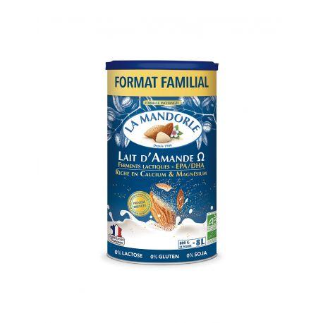 Lapte praf de migdale Omega 3 format familial x 800g La Mandorle