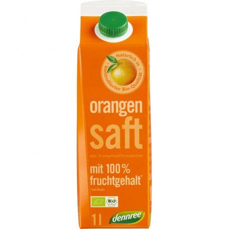 Suc de portocale din concentrat bio x 1L Dennree