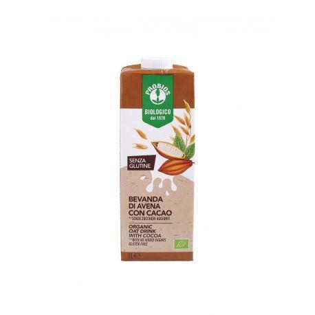 Bautura din ovaz cu cacao, fara zahar fara gluten x 1L Probios