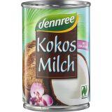 Lapte de cocos 60% bio x 400ml Dennree
