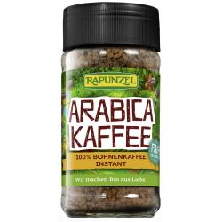 Cafea instant Arabica bio x100g Rapunzel
