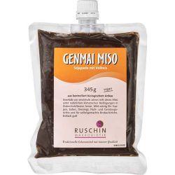 Genmai Miso de orez brun nepasteurizat x 345g Ruschin
