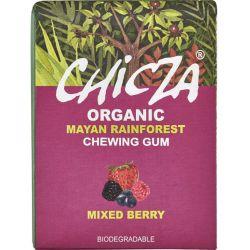 Guma de mestecat bio cu fructe de padure x 30g Chicza