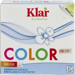Detergent pentru rufe colorate fara parfum x 1.375kg Klar
