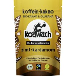 Cacao cu guarana scortisoara si cardamom x 100g Koawach