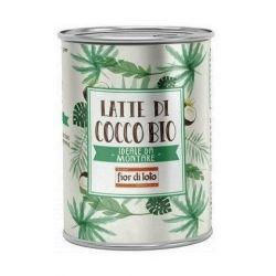 Lapte de cocos bio pentru creme (95% continut de cocos)x400ml Fior di Loto
