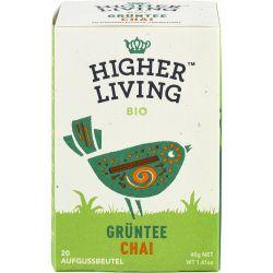 Ceai verde Chai 20 plicuri bio x40g Higher Living
