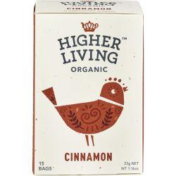 Ceai de scortisoara 15 plicuri bio x33g Higher Living